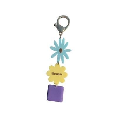 [Fruta] Pastel sugar key ring