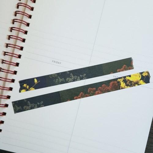 [본쥬흐네] 감성 밤꽃 마스킹테이프 12mm