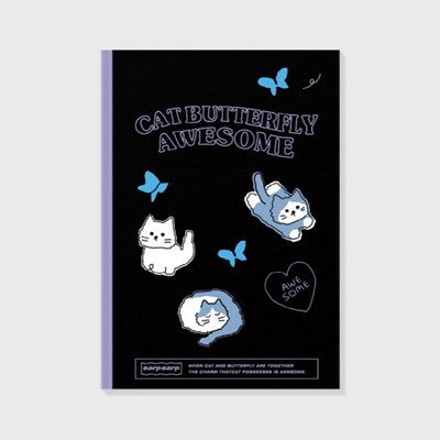 Awesome cat-black(노트)_(1622770)