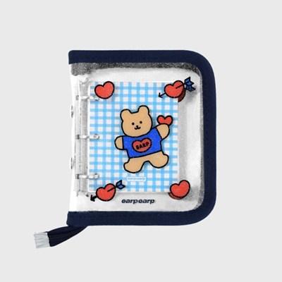 Bear heart-navy(3hole diary)_(1622699)