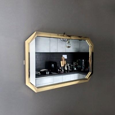 [데코마인] 루렌 직팔각 벽거울 화장대거울