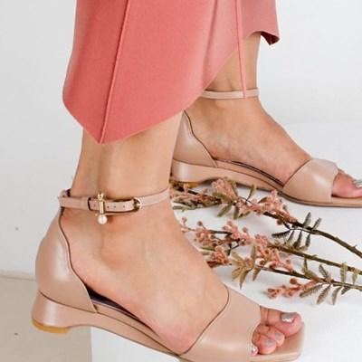 (1cm,3cm,5cm) sea sandal -  pink