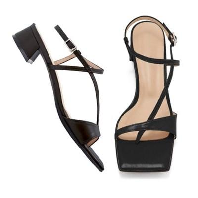 (3cm,5cm) Daze sandal-black