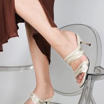 (5cm,7cm) Newave mule- ivory