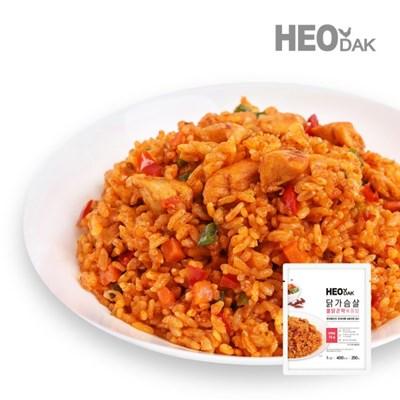 닭가슴살 불닭 곤약 볶음밥 250g + 비엔나 소시지 오리지널