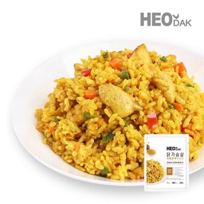 닭가슴살 커리 곤약 볶음밥 250g + 비엔나 소시지 오리지널