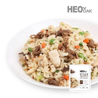 닭가슴살 소불고기 곤약 볶음밥 250g + 비엔나 소시지 오리지널