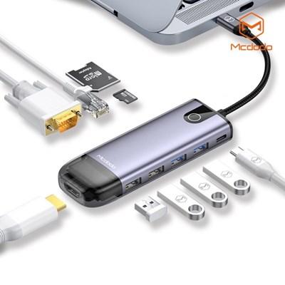 Mcdodo 10 in 1 C타입 USB 멀티 확장 허브 어댑터