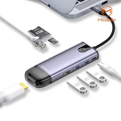 Mcdodo 8 in 1 C타입 USB 멀티 확장 허브 어댑터