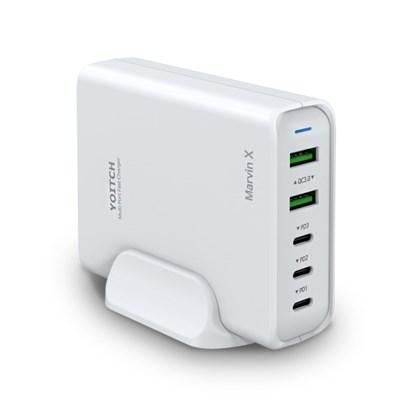 마빈 X USB C타입 PD 5포트 아이폰 갤럭시 멀티충전기 110W