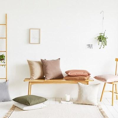 사각 의자 방석 면 패브릭 북유럽 카페 인테리어 6color_(1340181)