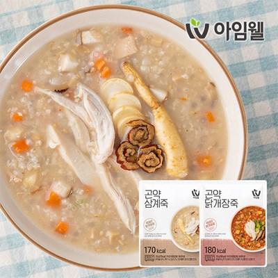 [아임웰] 닭가슴살 영양 곤약죽 1팩 골라담기