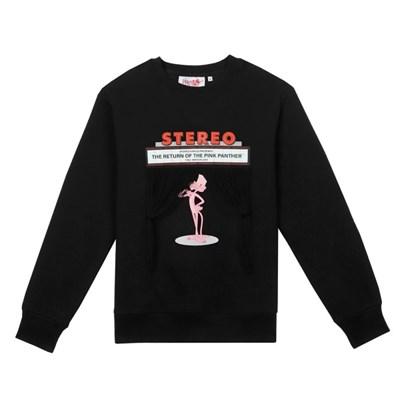 [FW19 Pink Panther] PP Fringe Sweatshirts(Black)_(785964)