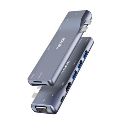 바이링크 라이트 썬더볼트3 USB C타입 맥북 에어 프로 8in2 멀티 허