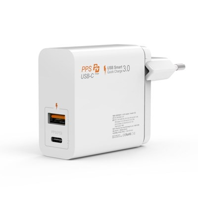 주파집 USB PD 퀵차지 아이폰 C타입 멀티 듀얼 고속충전_(1697335)