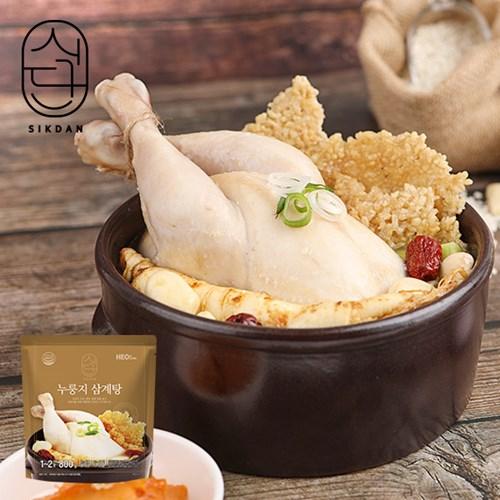 [허닭]식단 누룽지 삼계탕 800g