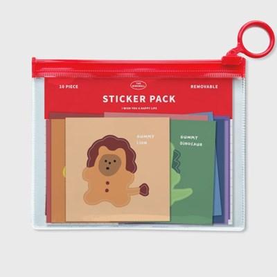 animal gummy 스티커팩