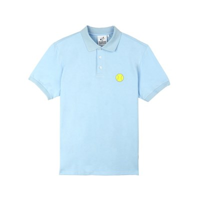 [SM18 Peanuts] Tennis Pique Shirts(Blue)_(786770)