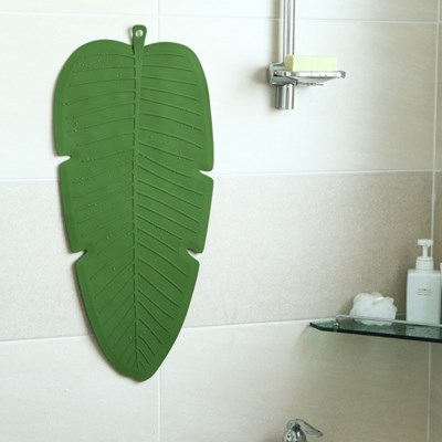 실리콘 욕조 미끄럼 방지 매트 - 02 바나나리프