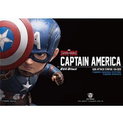 [비스트킹덤] EA-023 캡틴 아메리카 에그어택 스테츄 피규어