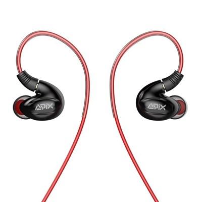 에이픽스 귀걸이형 MMCX인이어 게이밍 이어폰 GE005BA