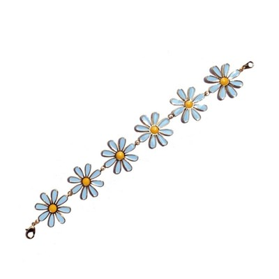 Ocean daisy bracelet