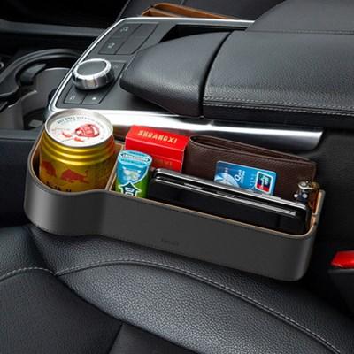 BS 차량용 사이드컵홀더 틈새 수납함 차량 수납
