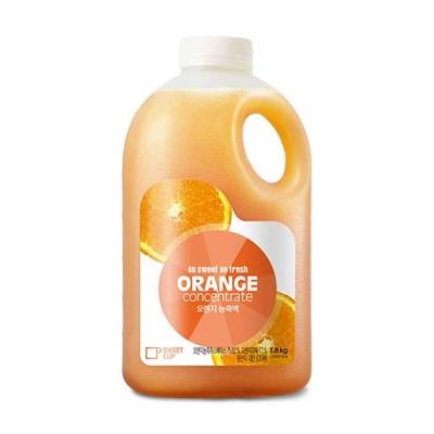 스위트컵 오렌지 농축액 1.8kg 6개(1박스)_(982905)