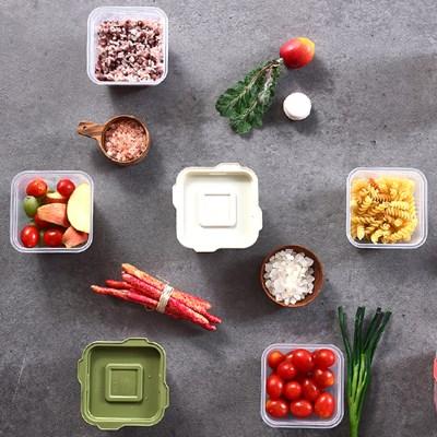 한끼밥 냉동밥 전자렌지용기 400ml X 15개 (색상 택1)