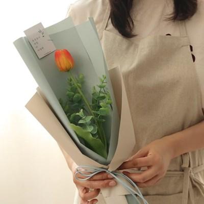 망고튤립 한송이꽃다발 [3color]_(723609)