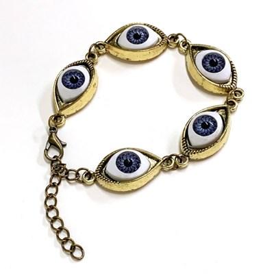 [실버문] 눈에는 눈 고딕 팔찌_(192485)