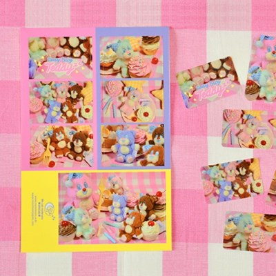 [SLEEPY WORLD] Baby TeddyzZ Photo Sticker