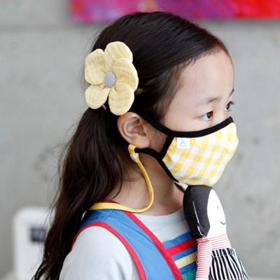 유아동 성인 순면 마스크 분실방지 목걸이 스트랩