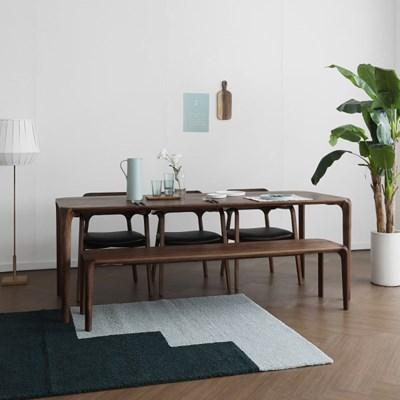 [헤리티지월넛] S4형 식탁/테이블 세트_(1551125)
