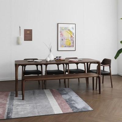[헤리티지월넛] S5형 식탁/테이블 세트_(1551124)