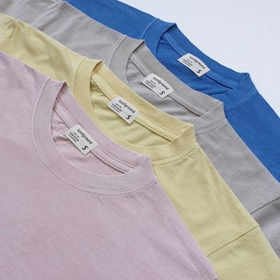루미그라운드 자연을 담은 천연염색 남여 티셔츠 반팔티셔츠