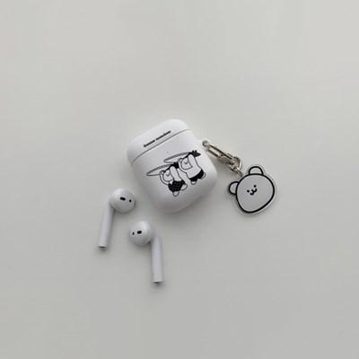 썸머 모모베어 디자인 에어팟 하드케이스