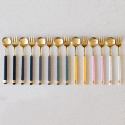 KARA GOLD 티스푼,티포크-7color