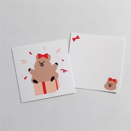 [영이의숲]축하 꽃카 엽서