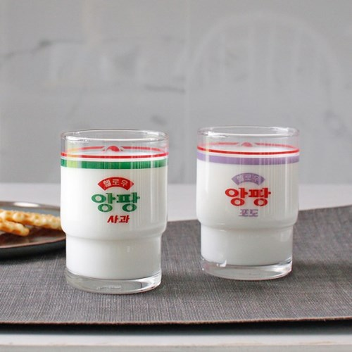 (정품) 서울우유 굿즈 앙팡 키즈 우유컵 -2type_(2982189)