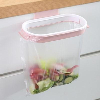 싱크대 뚜껑달린 음식물 쓰레기봉투걸이