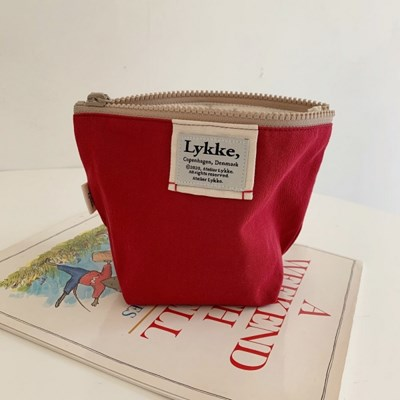 Lykke Classic Pouch_Brick Red