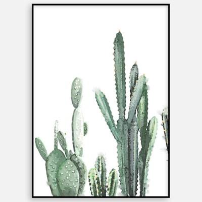 대형 거실 인테리어 카페 아이방 그림 액자 식물 북유럽 선인장