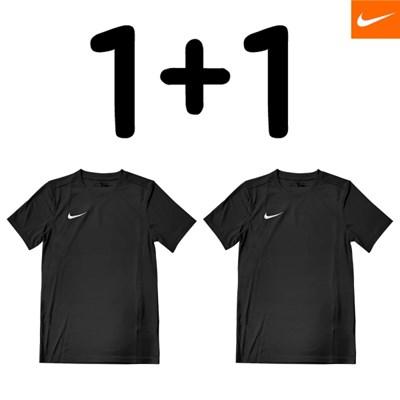 [1+1] 나이키 반팔 티셔츠 드라이 파크7저지 S/S 블랙_(218501)