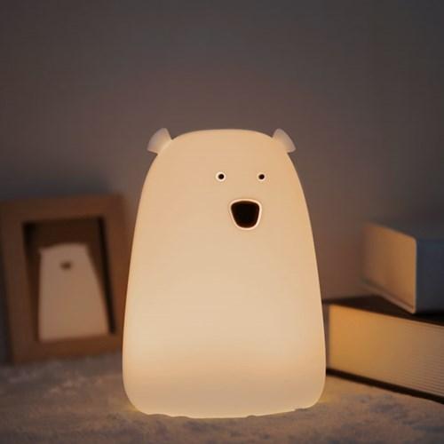 파파 LED 곰돌이 무드등
