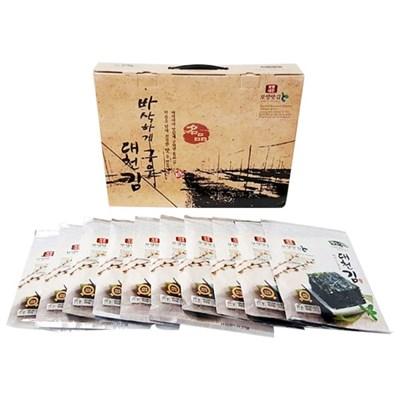[농사랑]모양맛김 구운 대천김 20g 전장김 x 10봉 세트_(1396888)