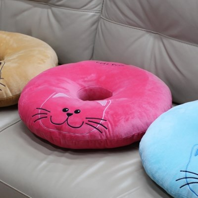 애니나라 스마일캣 도넛방석