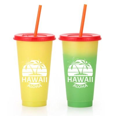 하와이 리유저블 체인지UP 텀블러 700ml [파인]