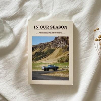season notebook-country (diary)