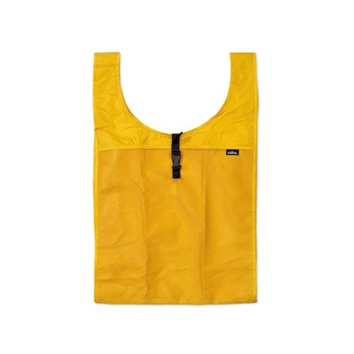 [nahe] 휴대용 장바구니 접이식 시장가방 에코백 Yellow_(3612197)